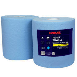 Paper towel blue