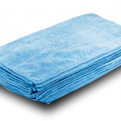 Blue Cleaning Microfibre 40x40cm 10/pack
