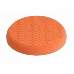 Compounding Pad 150 x25mm Ventilated Hook & Loop Orange