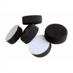 Hook & Loop Black Polishing Pad 75mm x 30mm Pack of 5
