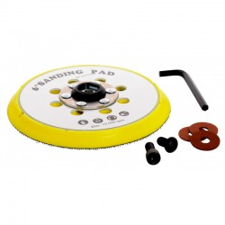 Backing Pad, 150mm, 8 Holes Fits Festool Tools