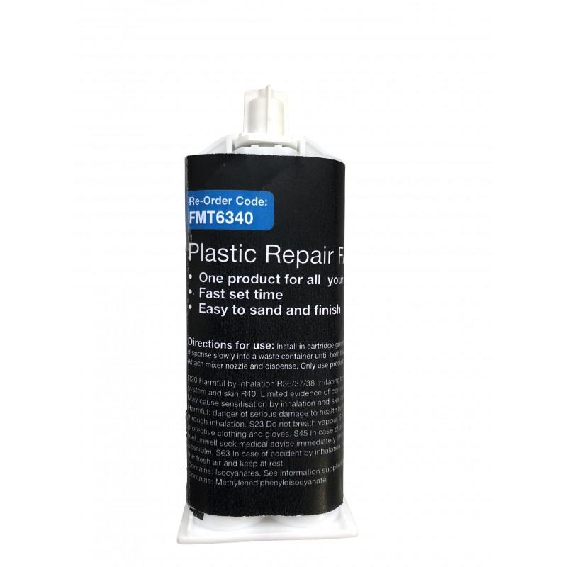 2K PU Plastic Repair Cartridge, 50ml