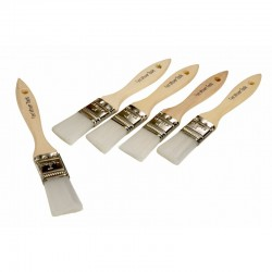 Wooden Seam Sealer Brush, 5pcs