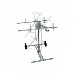 Universal Rotating Panelstand