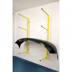 Wall Mounted & Foldaway Bumper Storage Rack