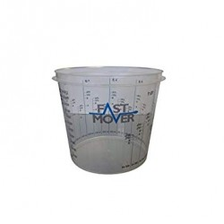 Plastic Paint Mixing Cups 1400ml, 200pcs